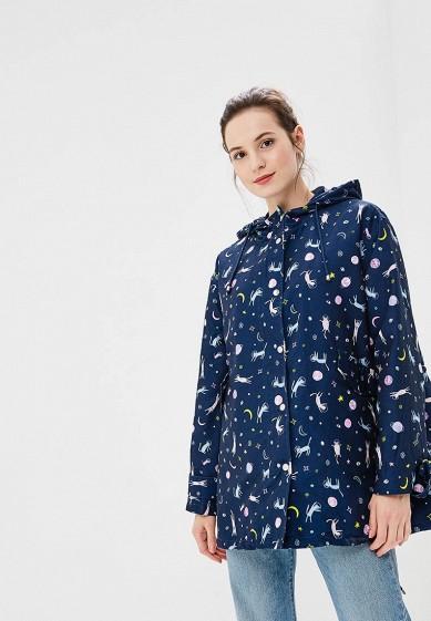 Куртка, Befree, цвет: синий. Артикул: BE031EWBXHQ6. Одежда / Верхняя одежда