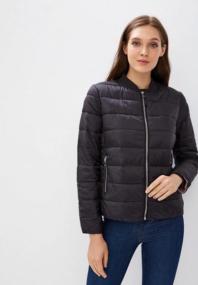Куртка утепленная, Befree, цвет: черный. Артикул: BE031EWBXIO5. Одежда / Верхняя одежда