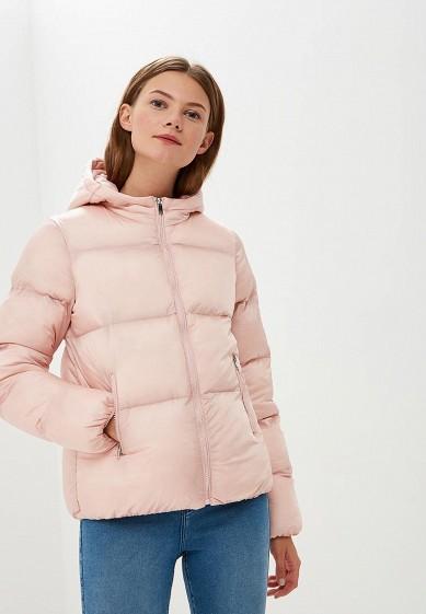 Куртка утепленная, Befree, цвет: розовый. Артикул: BE031EWBXIP3. Одежда / Верхняя одежда