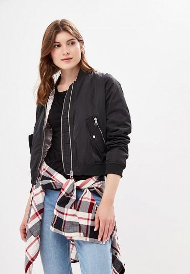 Куртка утепленная, Befree, цвет: черный. Артикул: BE031EWBXIP5. Одежда / Верхняя одежда