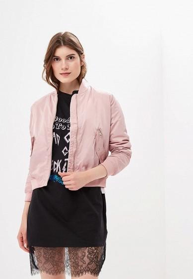 Куртка утепленная, Befree, цвет: розовый. Артикул: BE031EWBXIP8. Одежда / Верхняя одежда