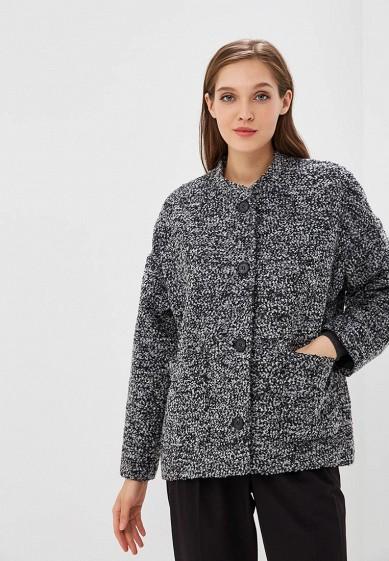 Пальто, Befree, цвет: серый. Артикул: BE031EWBXIQ7. Одежда / Верхняя одежда