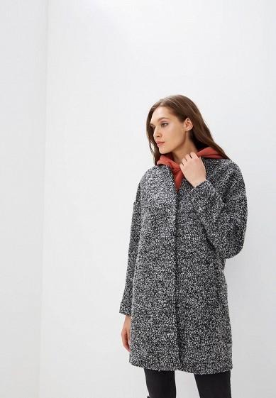 Пальто, Befree, цвет: серый. Артикул: BE031EWBXIQ8. Одежда / Верхняя одежда