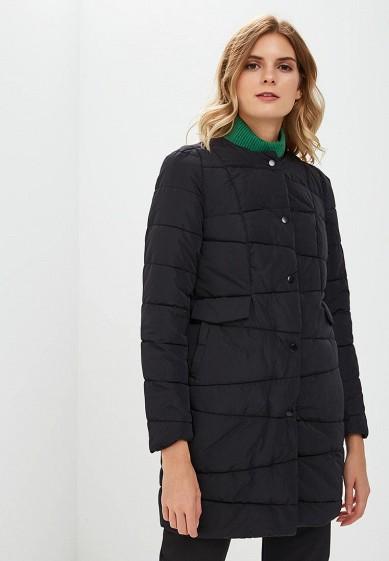 Куртка утепленная, Befree, цвет: черный. Артикул: BE031EWBXIR4. Одежда / Верхняя одежда