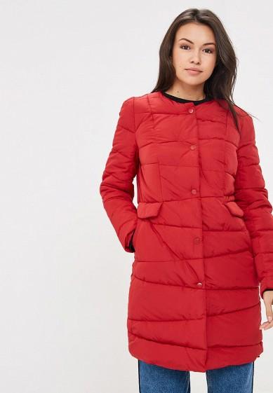 Куртка утепленная, Befree, цвет: красный. Артикул: BE031EWBXIR5. Одежда / Верхняя одежда