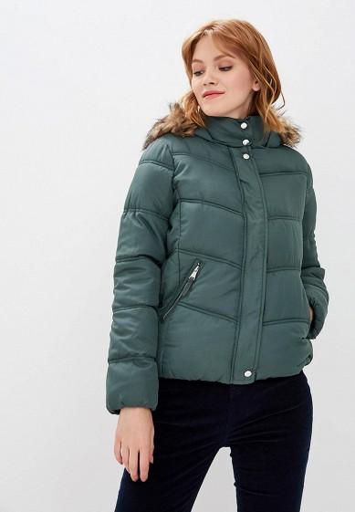 Куртка утепленная, Befree, цвет: хаки. Артикул: BE031EWBXJP7. Одежда / Верхняя одежда