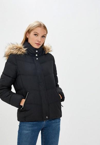 Куртка утепленная, Befree, цвет: черный. Артикул: BE031EWBXJP9. Одежда / Верхняя одежда