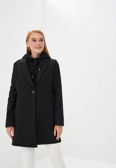 Пальто, Befree, цвет: черный. Артикул: BE031EWBXKT0. Одежда / Верхняя одежда