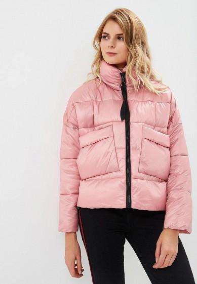 Куртка утепленная, Befree, цвет: розовый. Артикул: BE031EWBXLJ6. Одежда / Верхняя одежда
