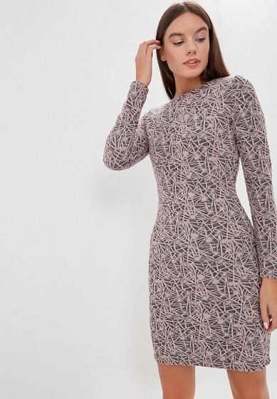 Платье, Befree, цвет: розовый. Артикул: BE031EWBXLK0. Одежда / Платья и сарафаны