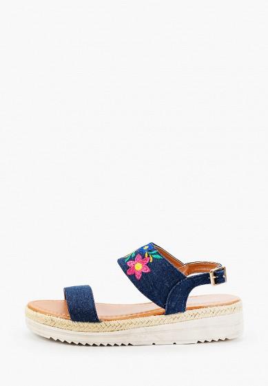 Сандалии, Beppi, цвет: синий. Артикул: BE099AWHNME0. Обувь