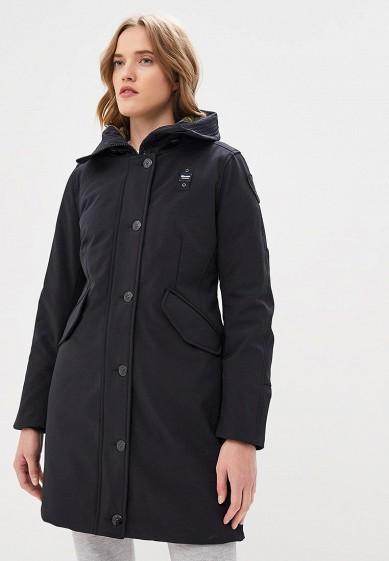 Пуховик, Blauer, цвет: черный. Артикул: BL654EWCATT7. Premium / Одежда / Верхняя одежда