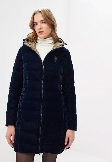 Пуховик, Blauer, цвет: синий. Артикул: BL654EWCATV2. Premium / Одежда / Верхняя одежда