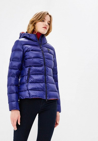 Пуховик, Blauer, цвет: синий. Артикул: BL654EWCAXU2. Premium / Одежда / Верхняя одежда