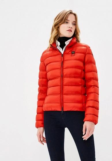 Пуховик, Blauer, цвет: красный. Артикул: BL654EWCAXU3. Premium / Одежда / Верхняя одежда