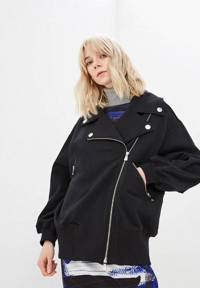 Куртка, Boutique Moschino, цвет: черный. Артикул: BO036EWDREA6. Premium / Одежда / Верхняя одежда