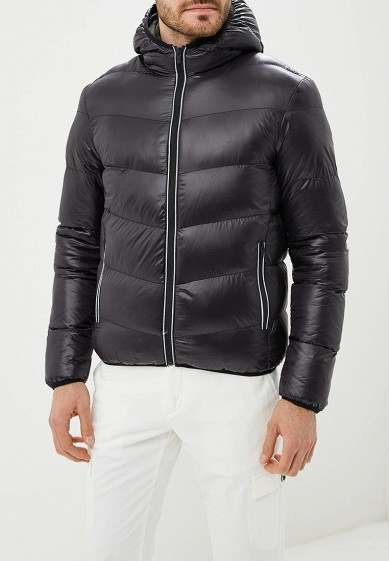 Куртка утепленная, Brave Soul, цвет: черный. Артикул: BR019EMBSJQ2. Одежда / Верхняя одежда / Пуховики и зимние куртки