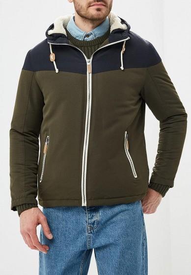 Куртка утепленная, Brave Soul, цвет: хаки. Артикул: BR019EMBSJR8. Одежда / Верхняя одежда