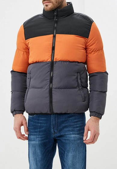 Куртка утепленная, Brave Soul, цвет: серый. Артикул: BR019EMBSLU5. Одежда / Верхняя одежда