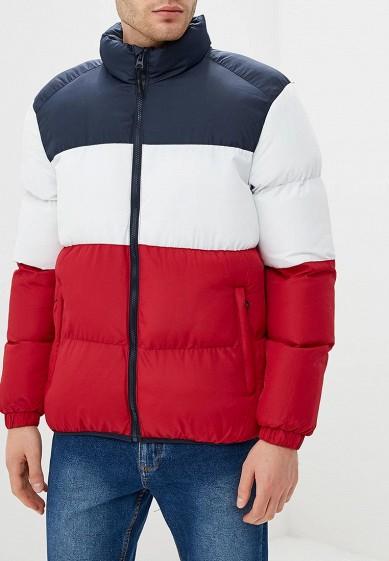 Куртка утепленная, Brave Soul, цвет: мультиколор. Артикул: BR019EMBSLY2. Одежда / Верхняя одежда / Пуховики и зимние куртки