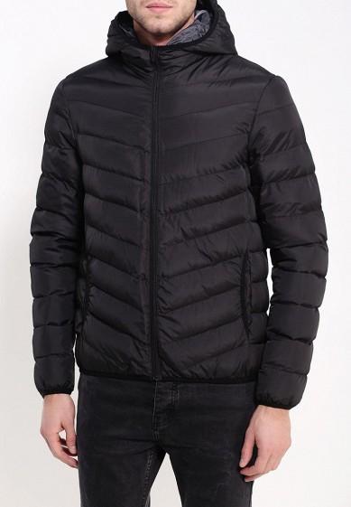 Куртка утепленная, Brave Soul, цвет: черный. Артикул: BR019EMJRH43. Одежда / Верхняя одежда