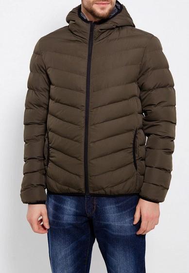 Куртка утепленная, Brave Soul, цвет: хаки. Артикул: BR019EMUMI93. Одежда / Верхняя одежда / Пуховики и зимние куртки