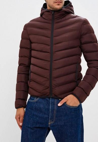 Куртка утепленная, Brave Soul, цвет: бордовый. Артикул: BR019EMUMI95. Одежда / Верхняя одежда