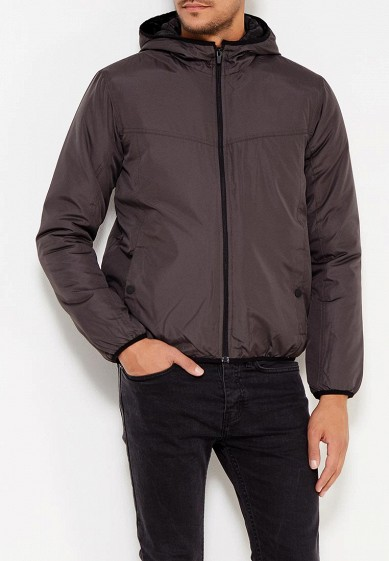 Куртка утепленная, Brave Soul, цвет: хаки. Артикул: BR019EMUMP30. Одежда / Верхняя одежда