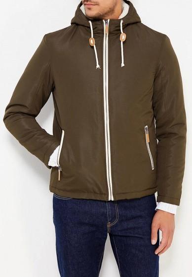 Куртка утепленная, Brave Soul, цвет: хаки. Артикул: BR019EMUMQ77. Одежда / Верхняя одежда