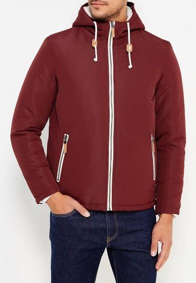 Куртка утепленная, Brave Soul, цвет: бордовый. Артикул: BR019EMUMQ78. Одежда / Верхняя одежда