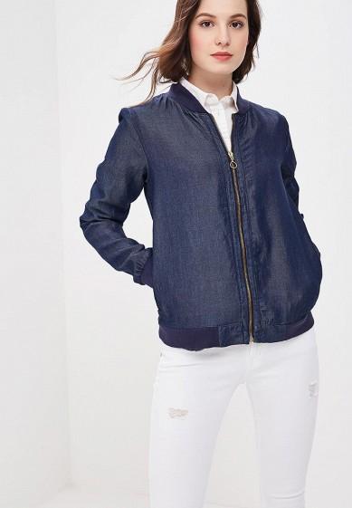 Куртка, Brave Soul, цвет: синий. Артикул: BR019EWACJT3. Одежда / Верхняя одежда
