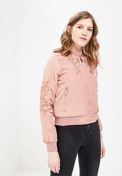 Куртка утепленная, Brave Soul, цвет: розовый. Артикул: BR019EWACJZ5. Одежда / Верхняя одежда