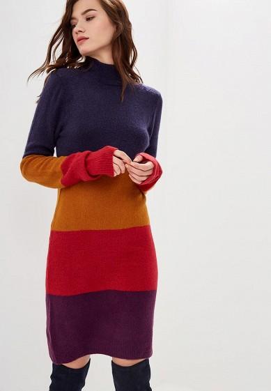 Платье, Brave Soul, цвет: мультиколор. Артикул: BR019EWBSNG0. Одежда / Платья и сарафаны