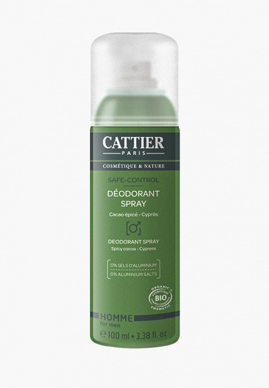 Cattier Дезодорант «Сейф-контроль» (100 мл)