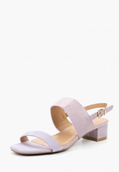 Босоножки, Catisa, цвет: фиолетовый. Артикул: CA072AWBMKW3. Обувь