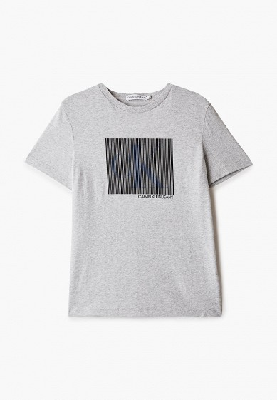 Футболка Calvin Klein Jeans за 3 990 ₽. в интернет-магазине Lamoda.ru