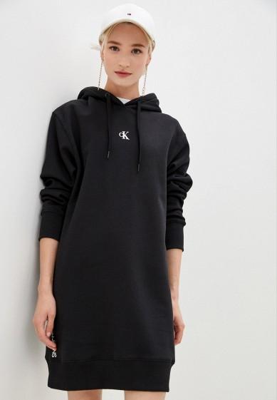 Платье Calvin Klein Jeans за 9 520 ₽. в интернет-магазине Lamoda.ru