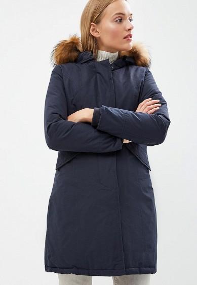 Пуховик, Canadian, цвет: синий. Артикул: CA998EWBXRD4. Premium / Одежда / Верхняя одежда