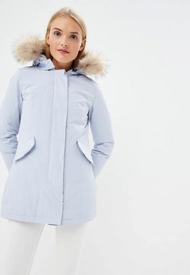 Пуховик, Canadian, цвет: голубой. Артикул: CA998EWBXRD6. Premium / Одежда / Верхняя одежда