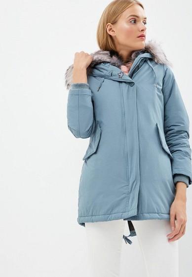 Парка, Canadian, цвет: голубой. Артикул: CA998EWBXRD8. Одежда / Верхняя одежда / Парки