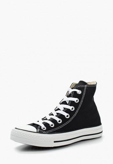 Кеды Converse ALL STAR HI BLACK купить за 5 190 руб CO011AUAE152 в интернет- магазине Lamoda.ru 55a1795ce46