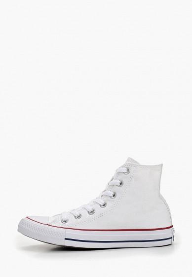 0ecdb653 Кеды Converse ALL STAR HI OPTICAL WHITE купить за 5 400 руб CO011AUFZ697 в  интернет-магазине Lamoda.ru