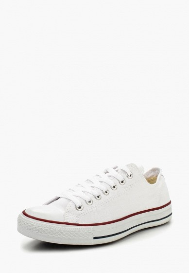 Кеды Converse ALL STAR OX OPTICAL WHITE купить за 4 990 руб CO011AUFZ698 в  интернет-магазине Lamoda.ru 2cb7521a7f44e