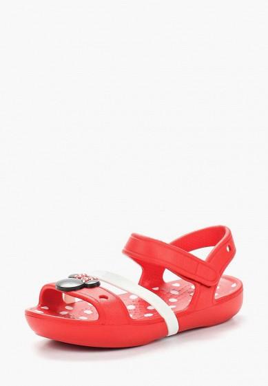62a6f676d61aa8 Сандалии Crocs Lina Minnie Sandal K купить за 2 159 руб CR014AGARRN6 в  интернет-магазине Lamoda.ru