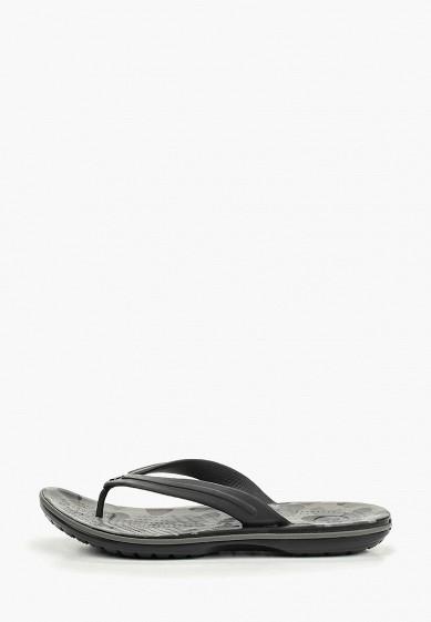 Сланцы, Crocs, цвет: черный. Артикул: CR014AUEMXX8. Обувь