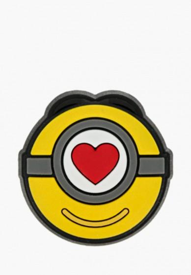Джиббитсы Crocs Minions Stuart Love Icon за 150 ₽. в интернет-магазине Lamoda.ru