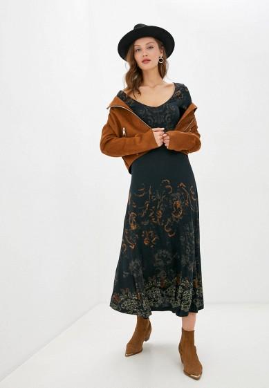 Платье Desigual за 6 904 ₽. в интернет-магазине Lamoda.ru