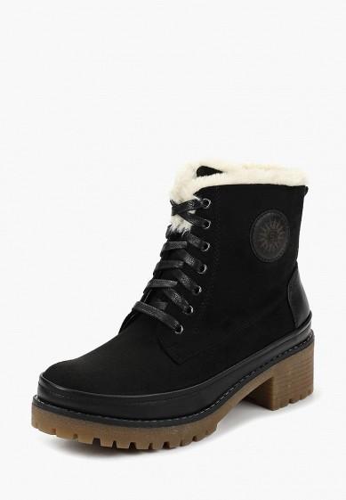 Ботильоны, Der Spur, цвет: черный. Артикул: DE034AWBZBA2. Обувь / Ботильоны