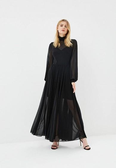 Платье, Diane von Furstenberg, цвет: черный. Артикул: DI001EWBSVN2. Одежда / Платья и сарафаны