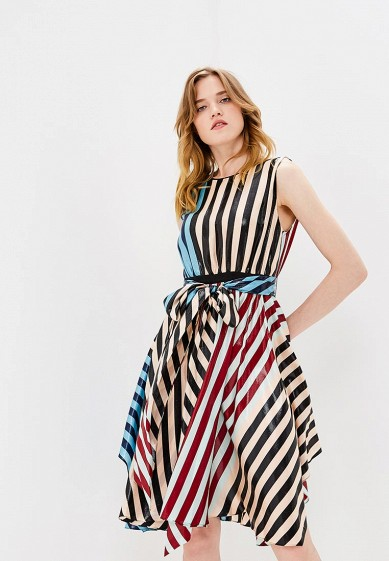 Платье, Diane von Furstenberg, цвет: мультиколор. Артикул: DI001EWBSVN7. Одежда / Платья и сарафаны
